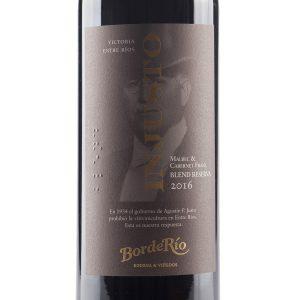 Vino BordeRío Injusto Blend Reserva 2016 Malbec & Cabernet Franc