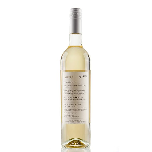 Vino BordeRío Injusto Chardonnay 2017