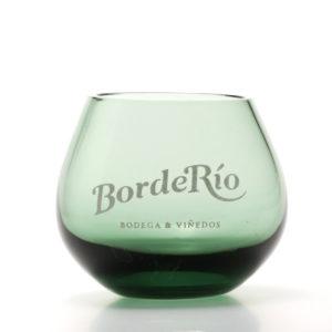 Vaso cristal color para degustación de aceites