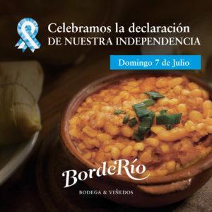 Celebramos la declaración de nuestra independencia