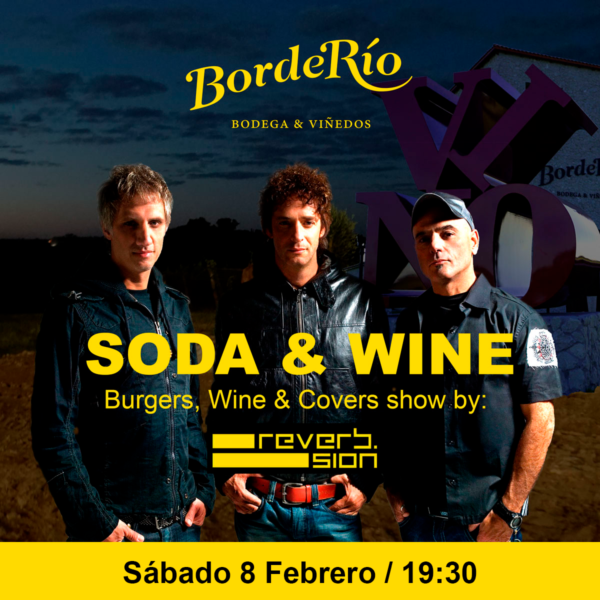 Soda Stereo & Wine by Reverb.sion