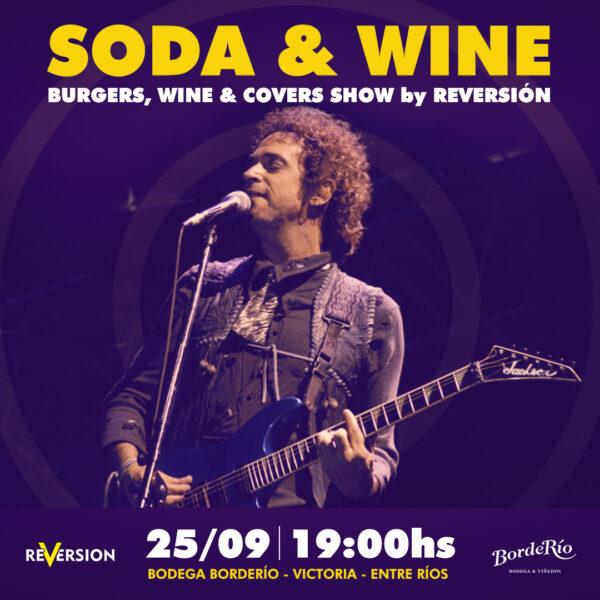 Soda & Wine - Recital de Reversión